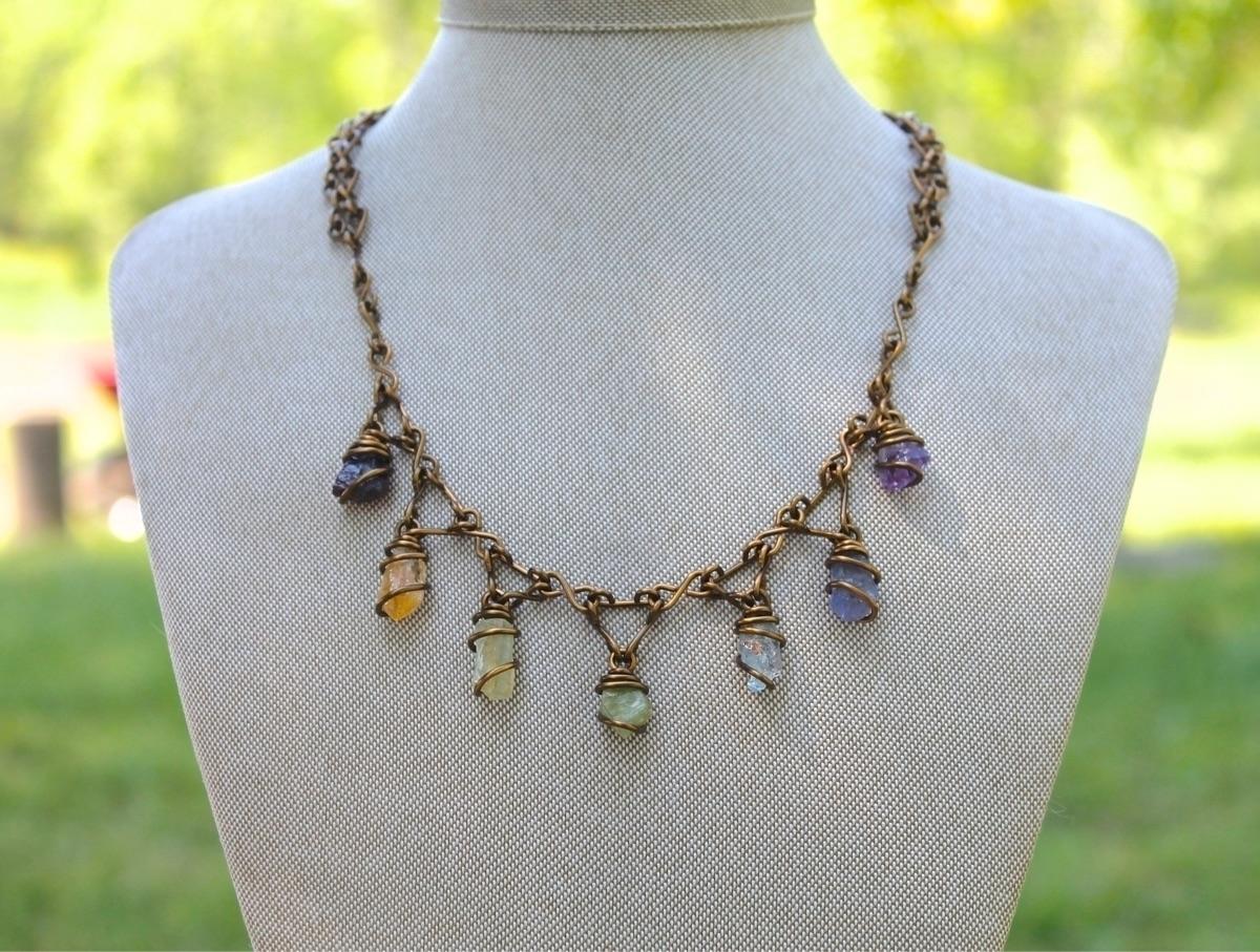 Handmade Chakra Necklace - jewelry - adamfjgreen   ello
