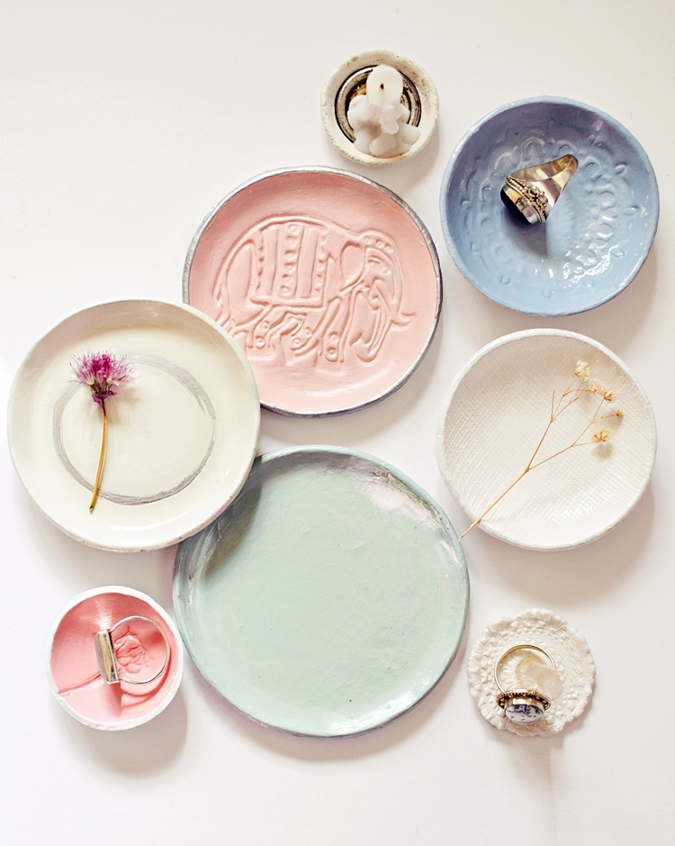 favorite ring holders dishes - clay - azandairalee | ello