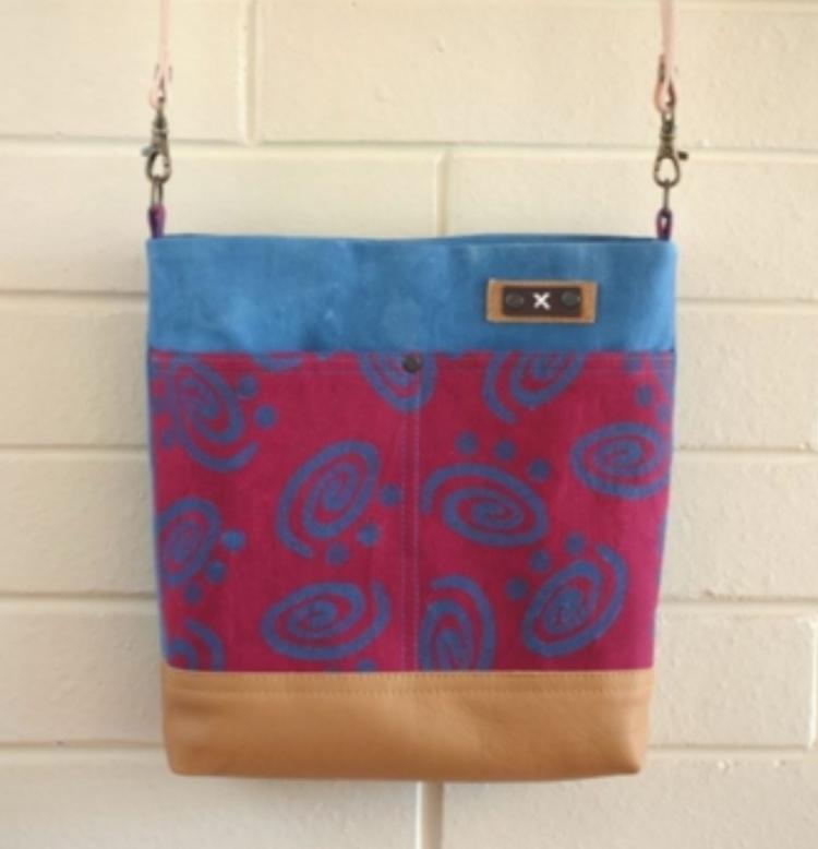 hand printed cotton canvas recy - ateliercrafers | ello