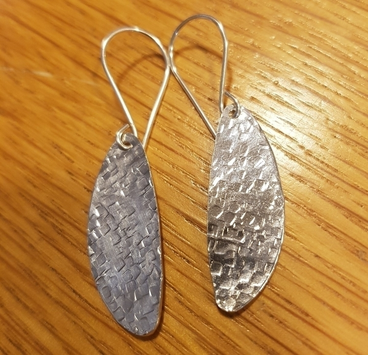 hammered sterling silver spoon  - ateliercrafers | ello