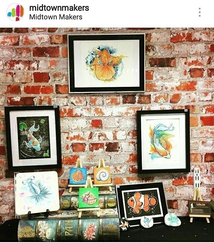 local shelf display touch artwo - kapika_arts   ello