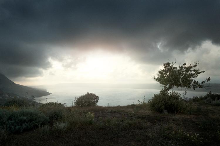 Storm Aptera - Crete :copyright - eliasamari | ello