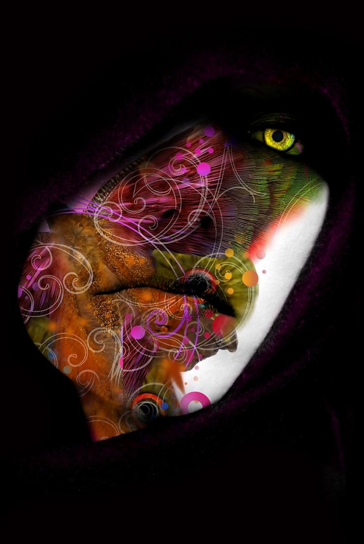 images - photoillustration, face - lobber66 | ello