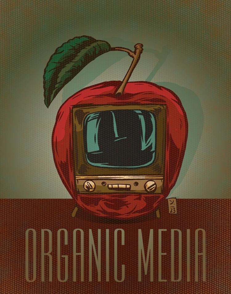 Organic Media - illustration - thomcat23 | ello