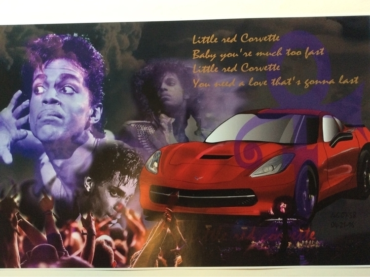 Prince mural proposal - tahjwilson1 | ello