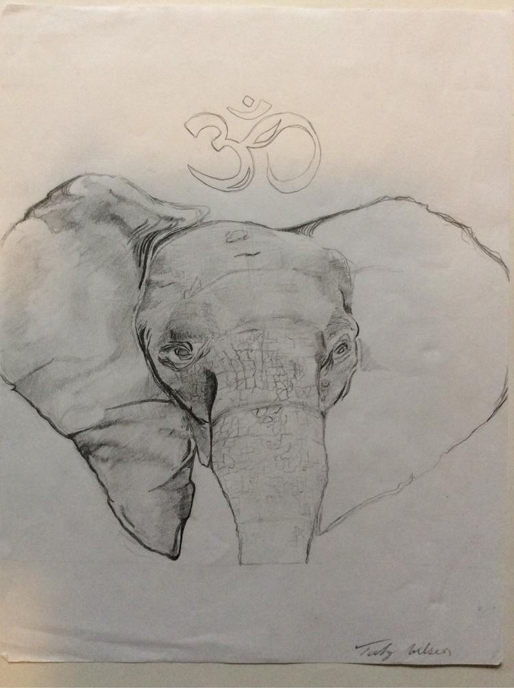Elephant sketch - tahjwilson1 | ello