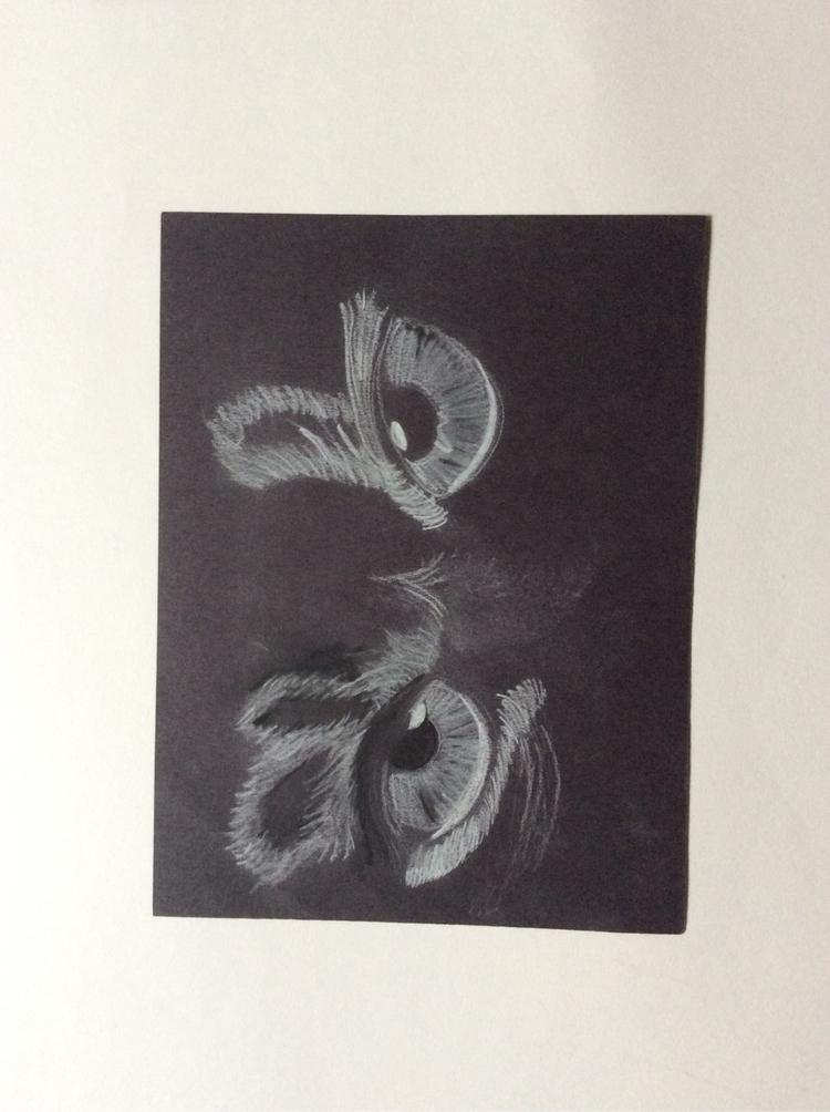Eyes drawing years - tahjwilson1 | ello