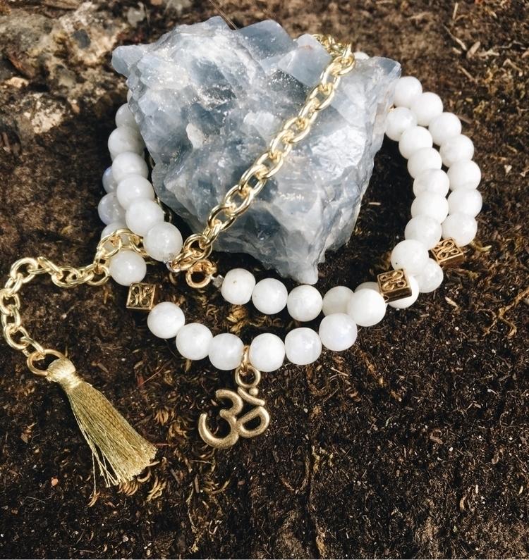 wrap bead chain bracelet! moons - gypsyxjewels   ello