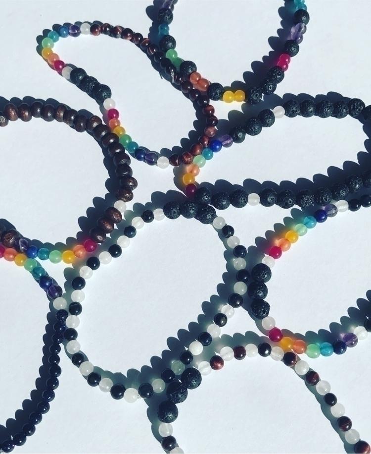 Shop update! bracelets Chakra/d - sunburntaloe | ello