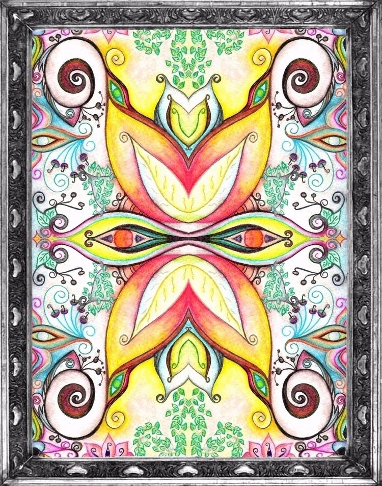 Symmetry / Watercolor  - micmazi | ello
