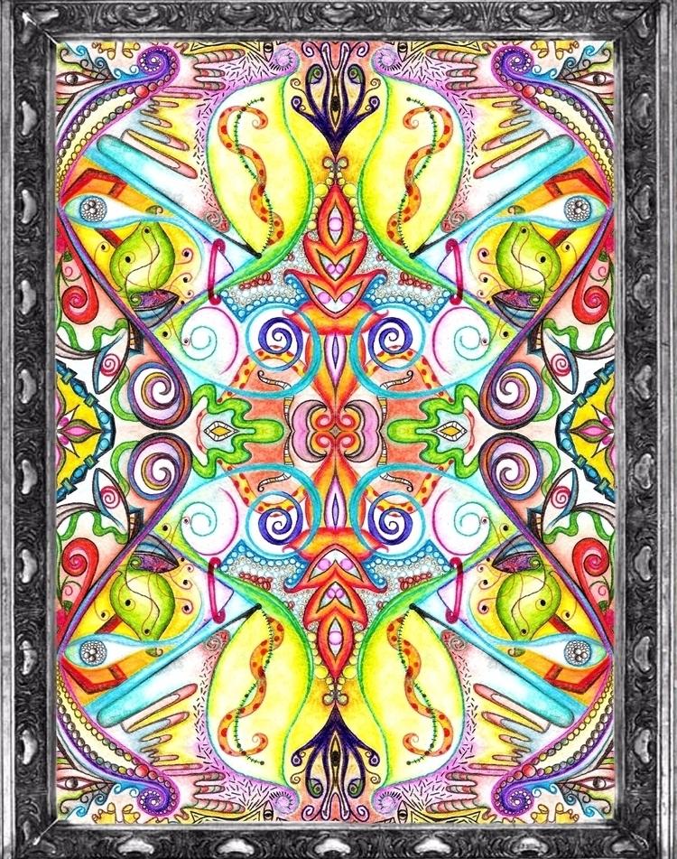 Symmetry/ Watercolor - VI - micmazi | ello