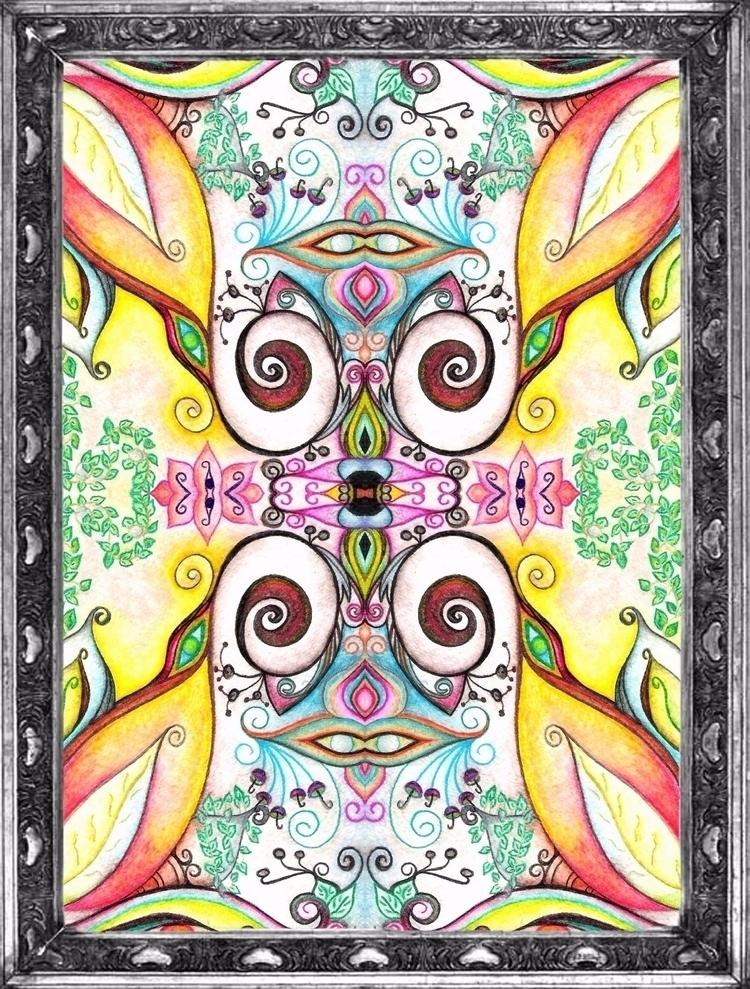 Symmetry/ Watercolor - IV - micmazi   ello