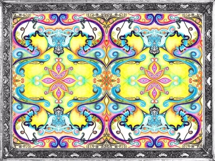 Symmetry/ Watercolor - II - micmazi   ello