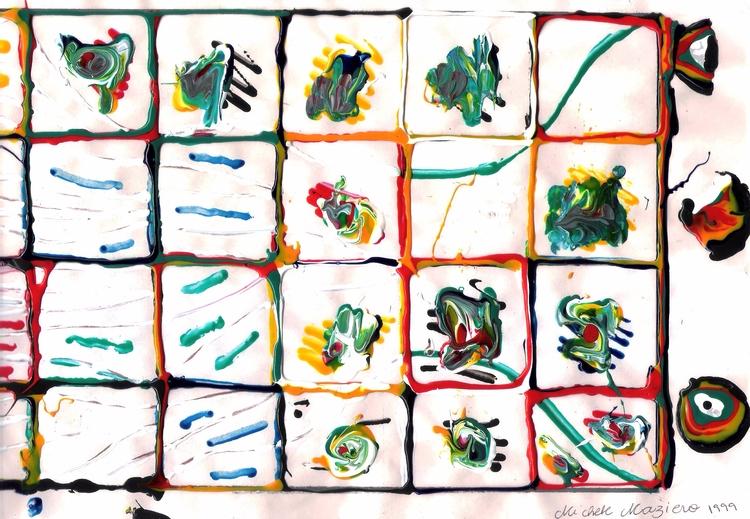Colored Glue - [eleven years - micmazi | ello