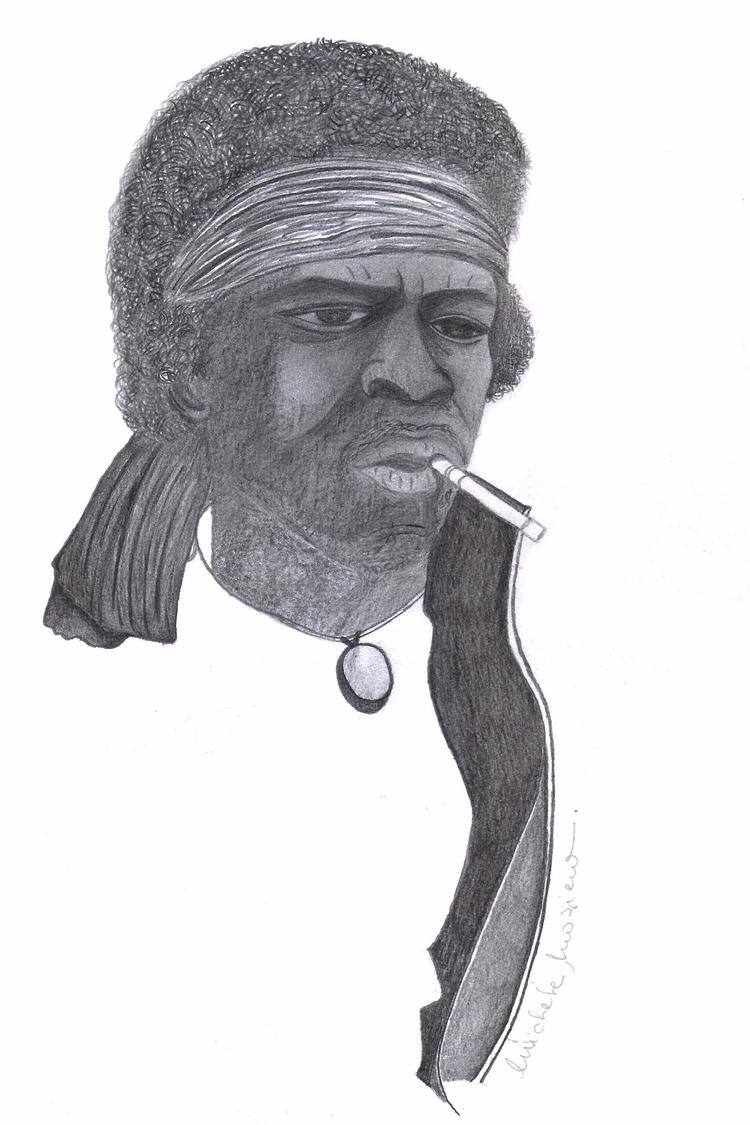 Hendrix - 6B Pencil - micmazi | ello