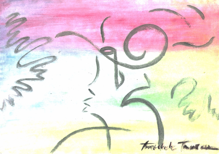 Watercolor/ Nanny [2010 - micmazi | ello