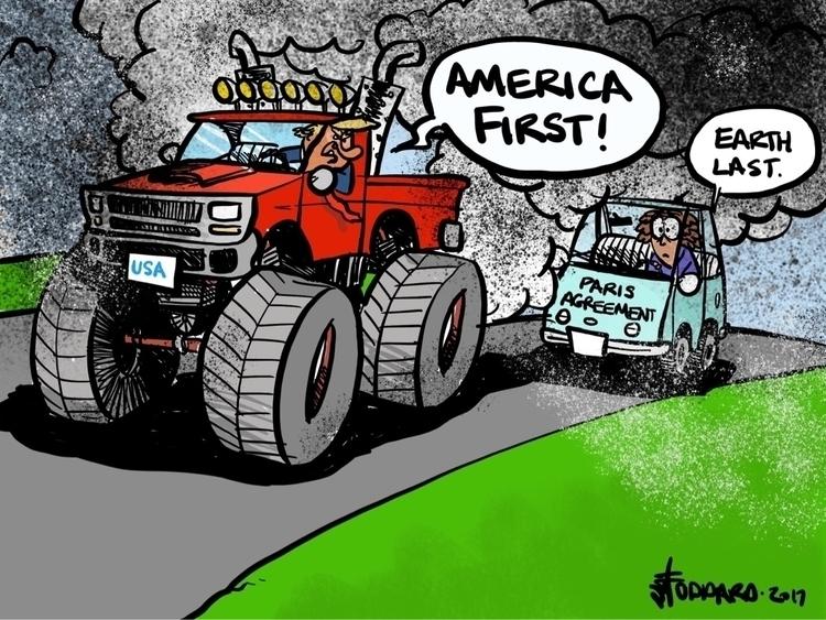 America - illustration,, editorial, - sstoddard | ello