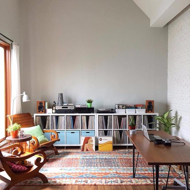 Home record collection lives. J - thatspecialrecord | ello
