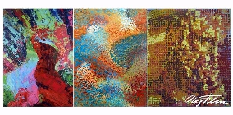 Abstract': set digital works, b - filin | ello