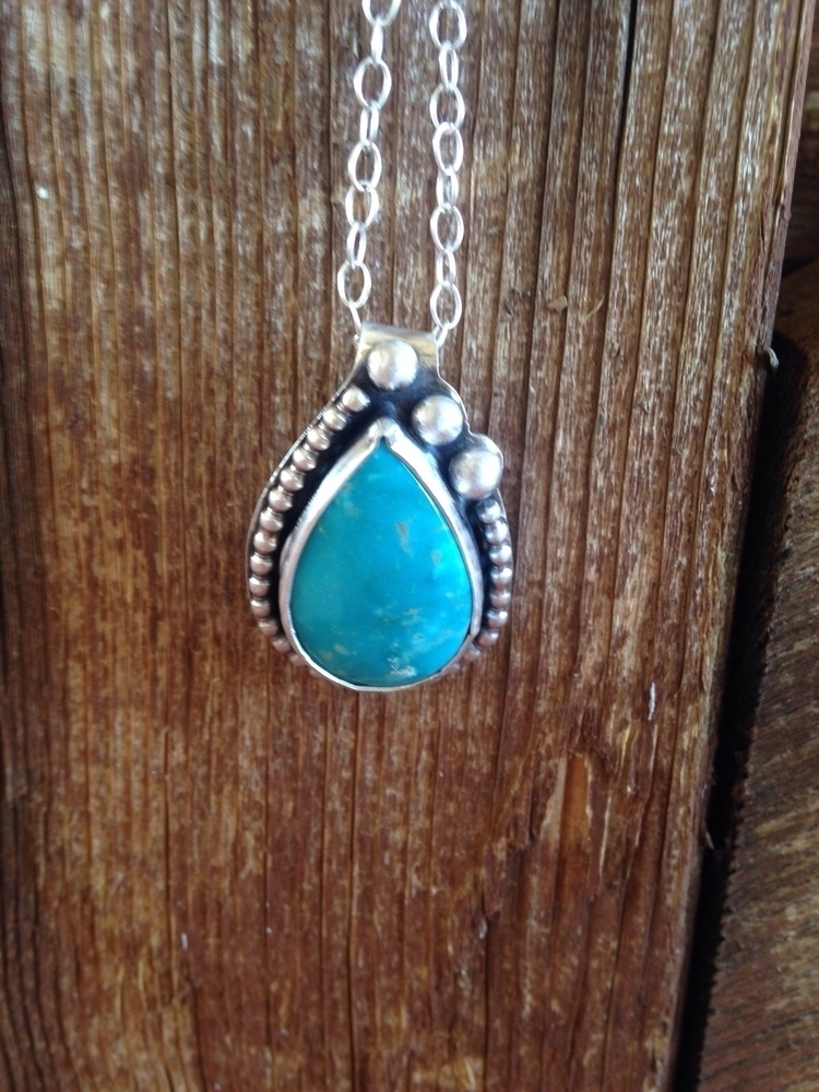 Serene. Fox turquoise pendant s - skinnyfishaz | ello
