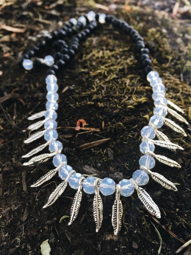 feather charm necklace:herb::do - gypsyxjewels | ello