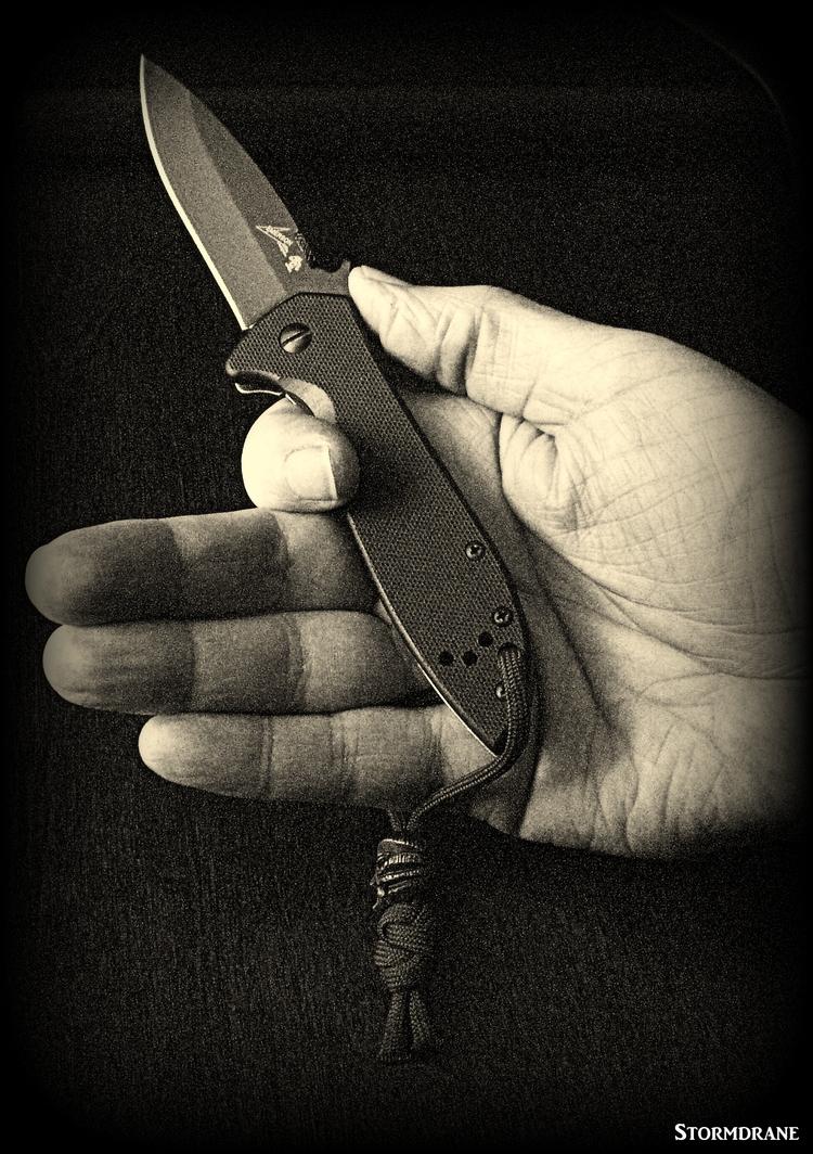 paracord, knots, knife, lanyard - stormdrane | ello