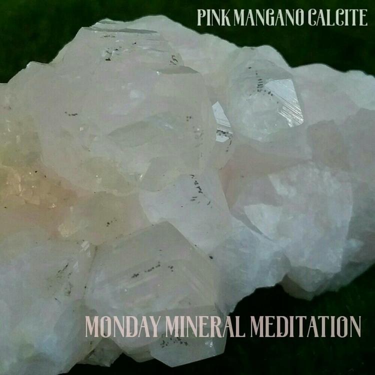 Pink Mangano Calcite softest bl - sacredservicereiki | ello