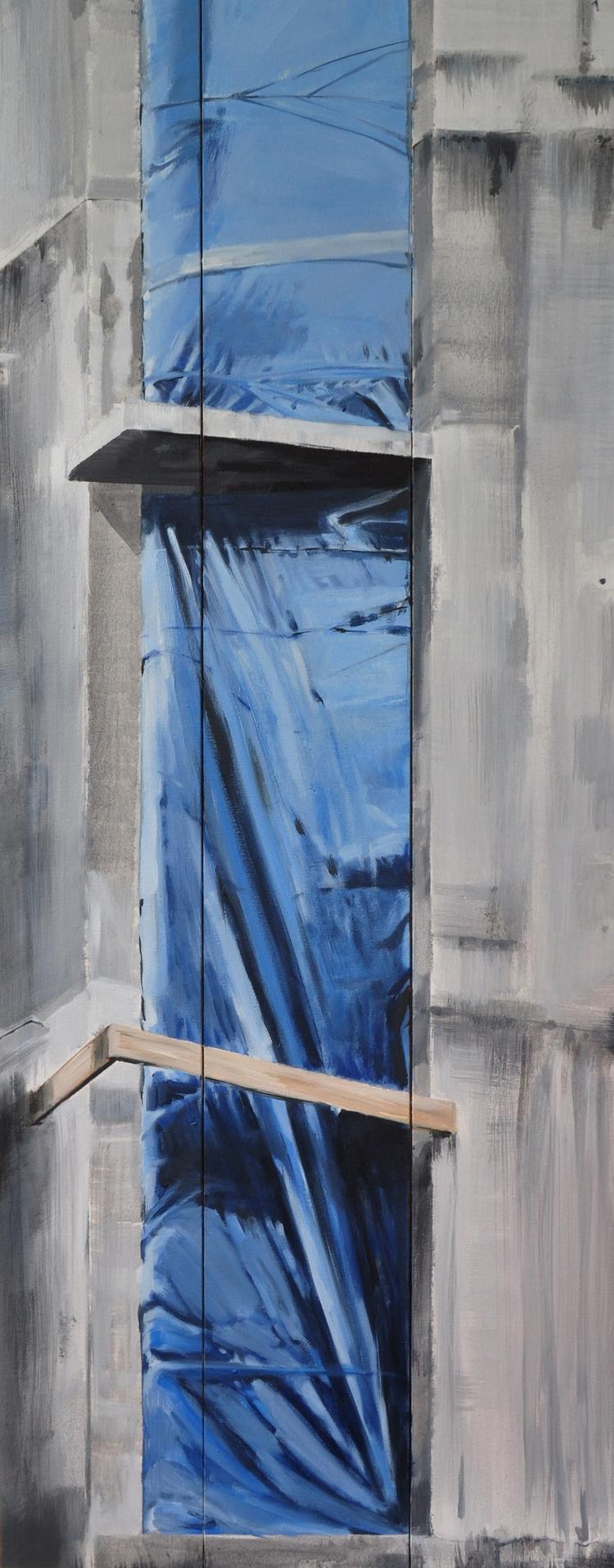100x39,5cm, building# artist ju - judytakrawczyk   ello