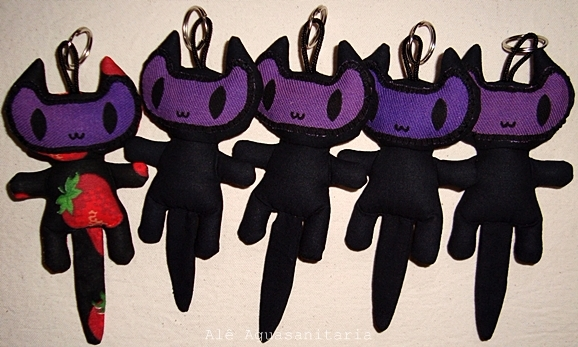 toyart, cat, kitty, black, purple - aguasanitaria | ello