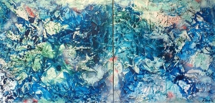 abstract, mixed-media - artisttjl | ello