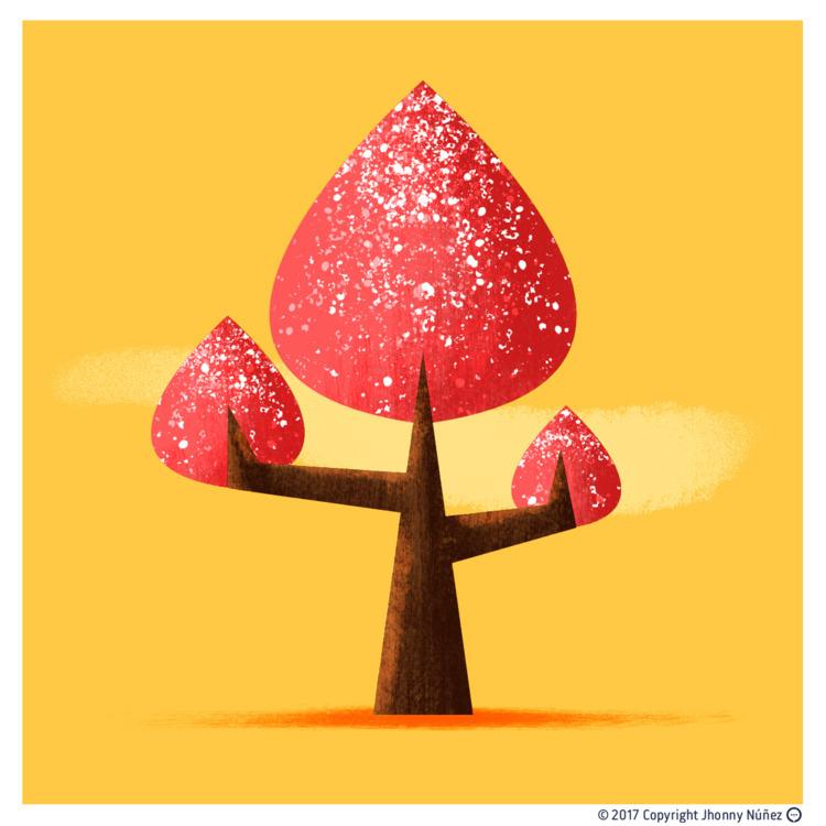 Test tree - JhonnyNúñez, illustration - dblackhand | ello