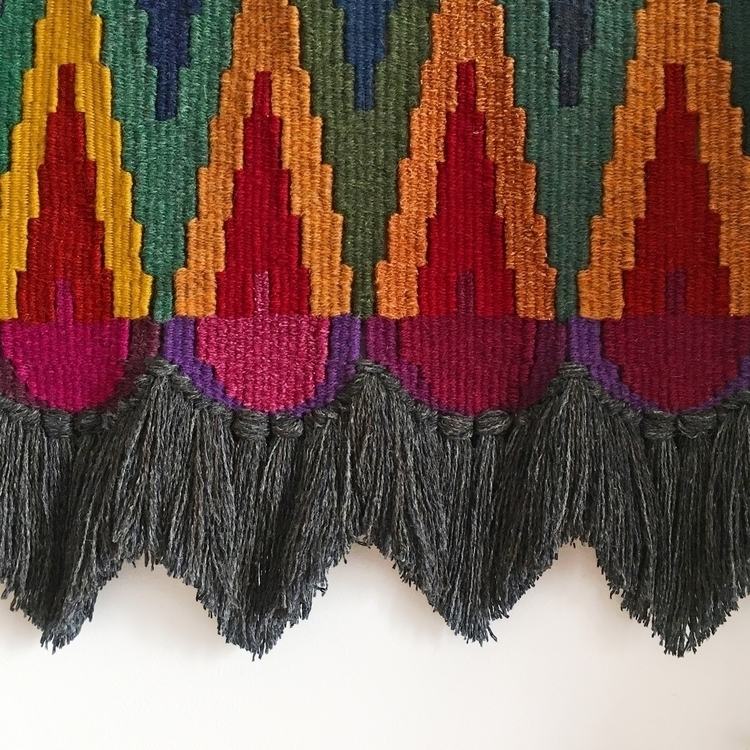 Shapes colours - weaving, handmade - only_a_paper_moon | ello