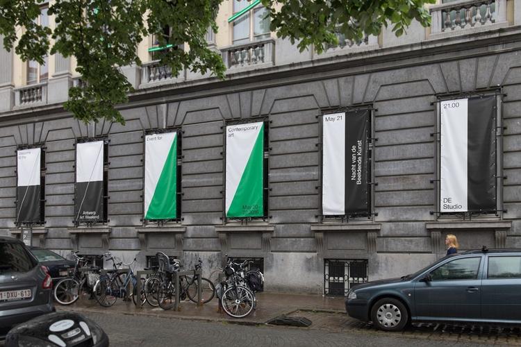 Visual identity Antwerp Art Wee - northeastco | ello