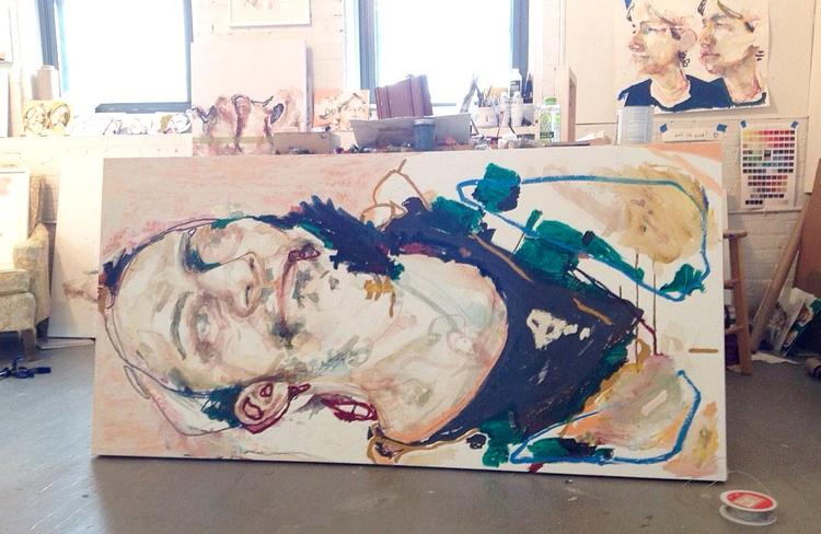 Studio Shot; show opening Frida - melanieknorris | ello