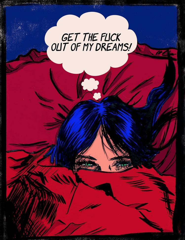 fuck dreams! find work - illustration - spranksgt | ello