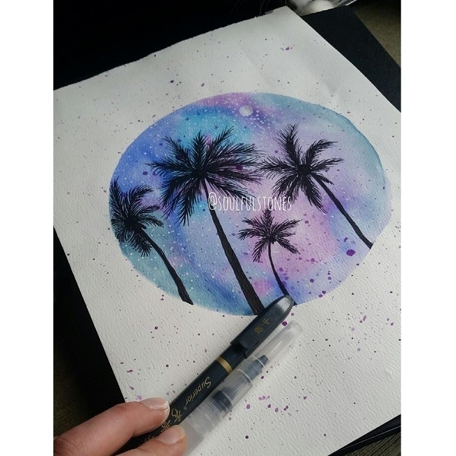 || Inspired travels palms - hawaiiisland - soulfulstones | ello