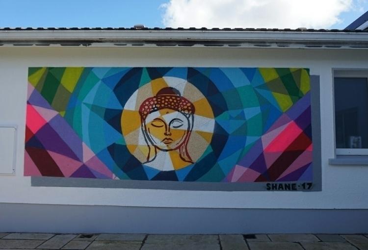 Mural painted Gemma - art, streetart - shaneomalleyart | ello