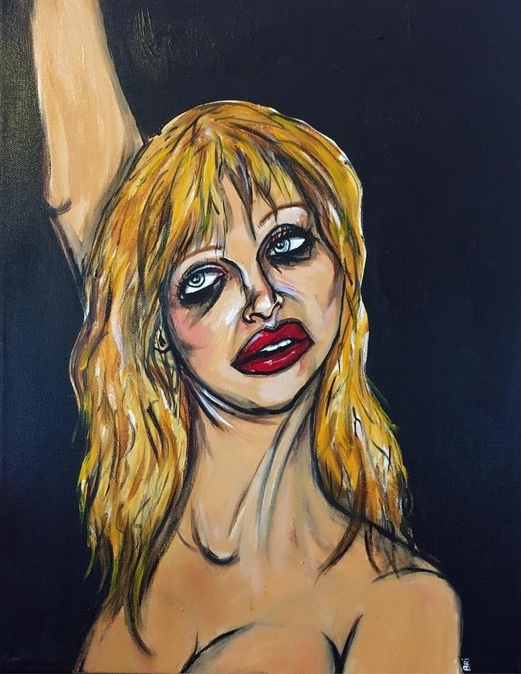Briana Benson| acrylic canvas|  - brieplease | ello
