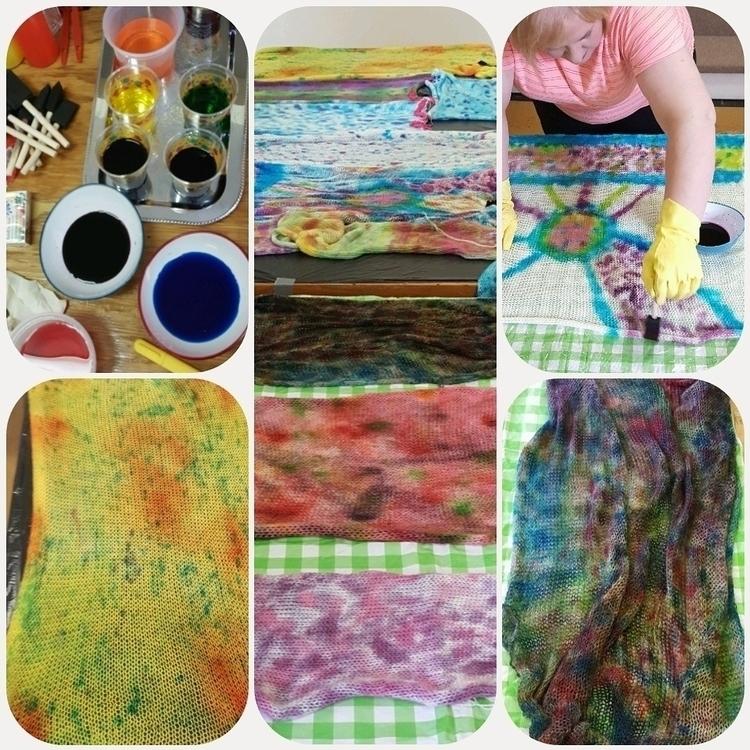 #handcrafted#handmade - knitting#knitlife#yarndying - heliina | ello