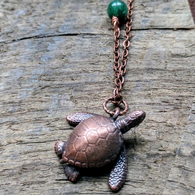 electroformed sea turtle! sale  - valchemy | ello