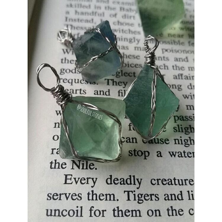 || Green Fluorite healing level - soulfulstones | ello