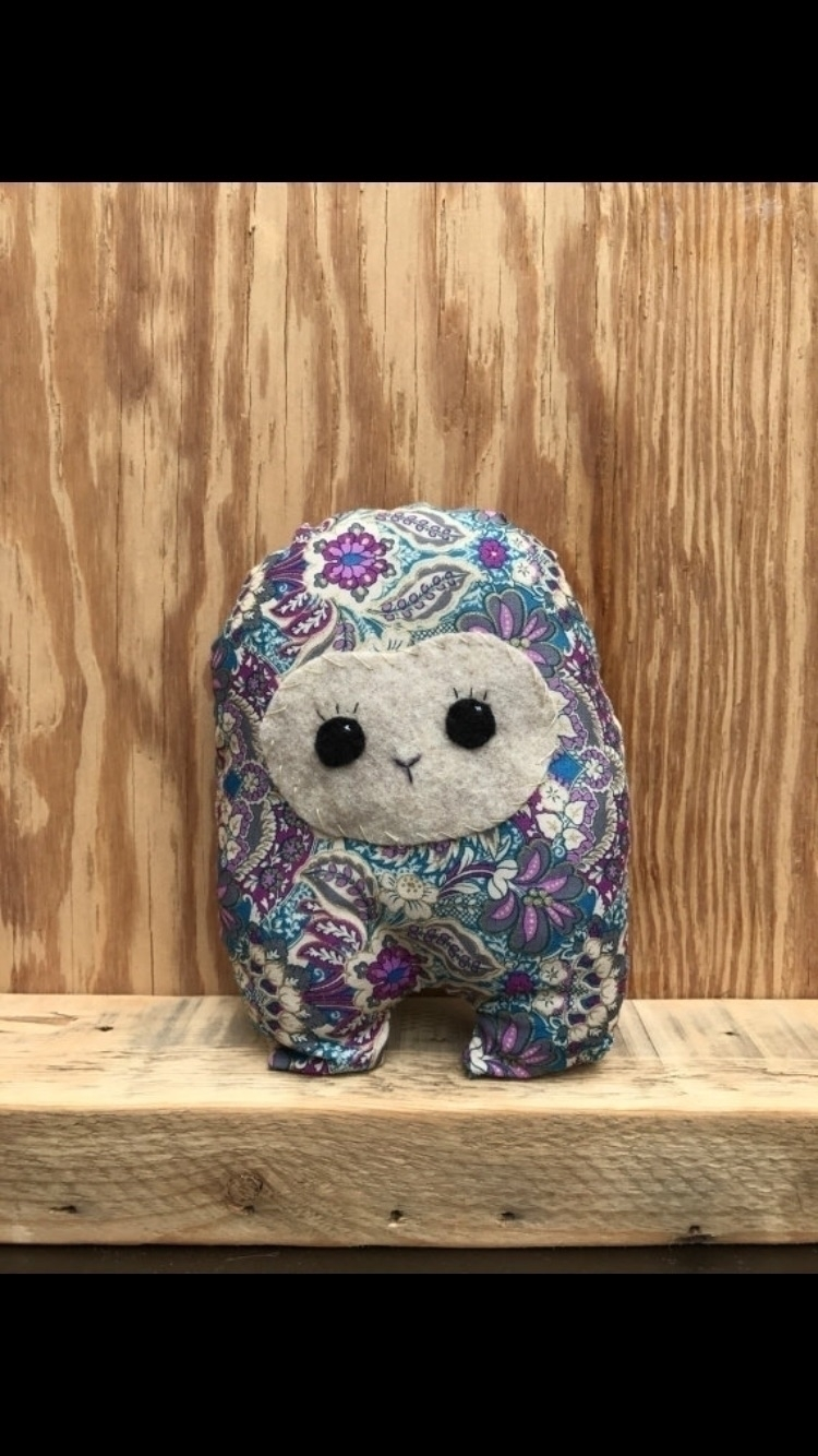 Girly Floral Huggle  - etsy, handmade - tykesanimalkingdom | ello
