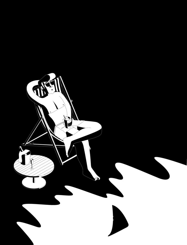 Illustration, Illustrator, BlackWhite - tomrouleau | ello