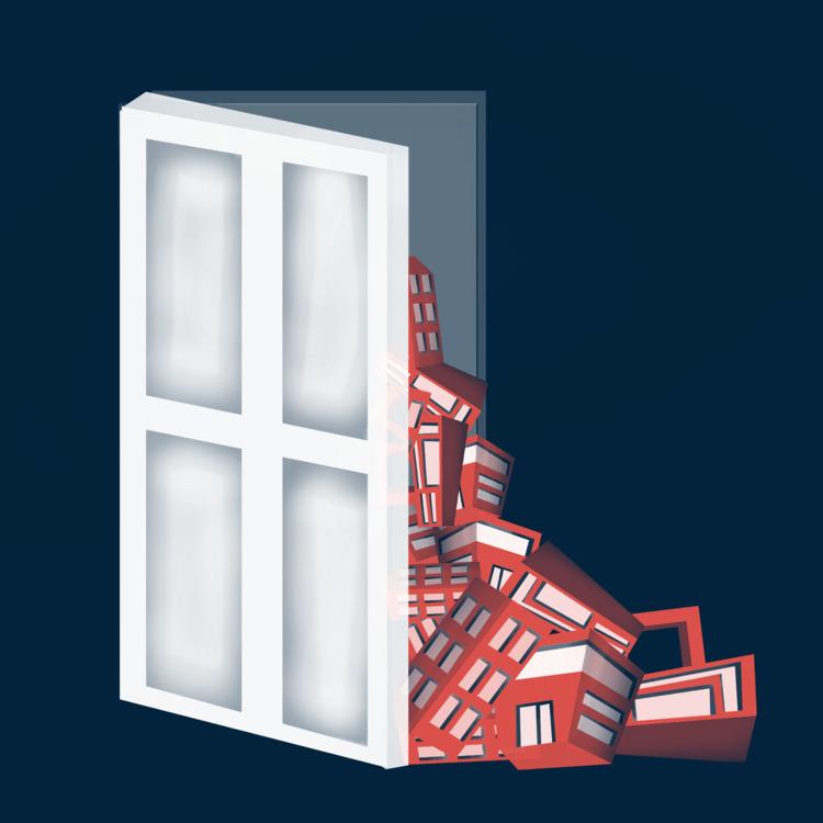 door - the100dayproject, 100daysofinvertedcities - jenifferrivera | ello