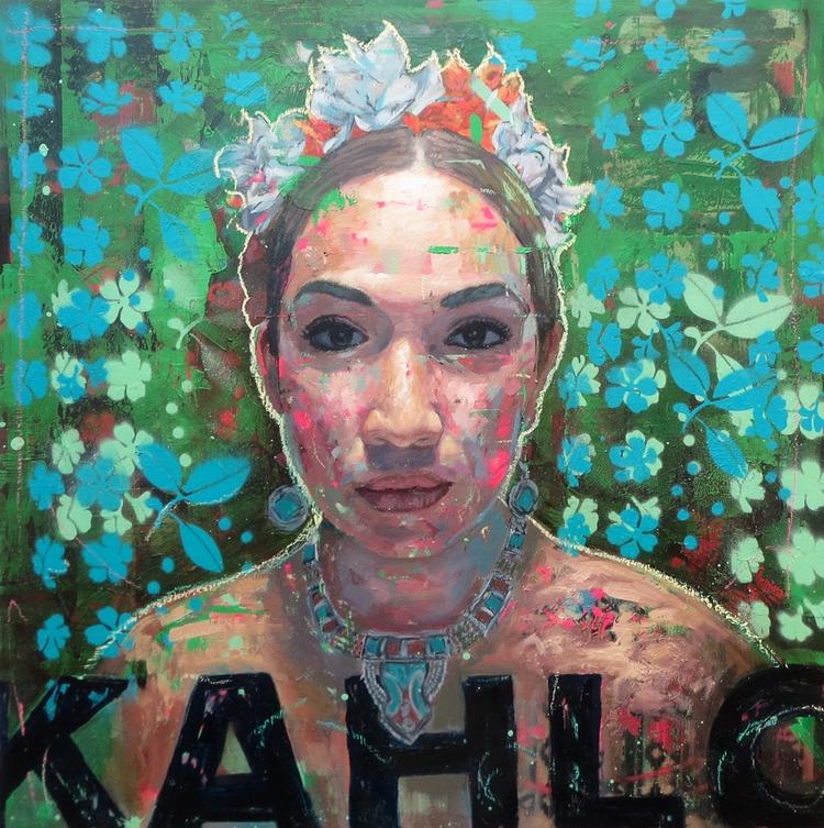 Daniel Valadez Kahlo Oil Paint  - danieljvaladez | ello
