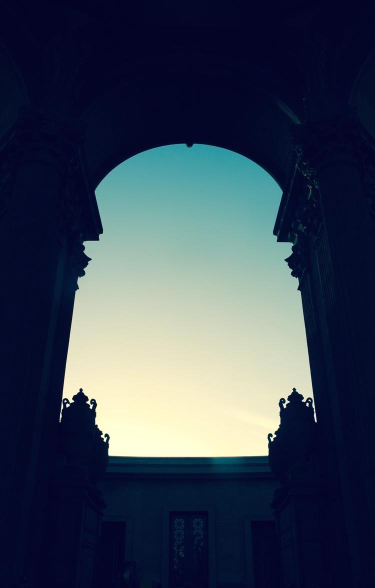 Palace Fine Arts. San Francisco - moii   ello