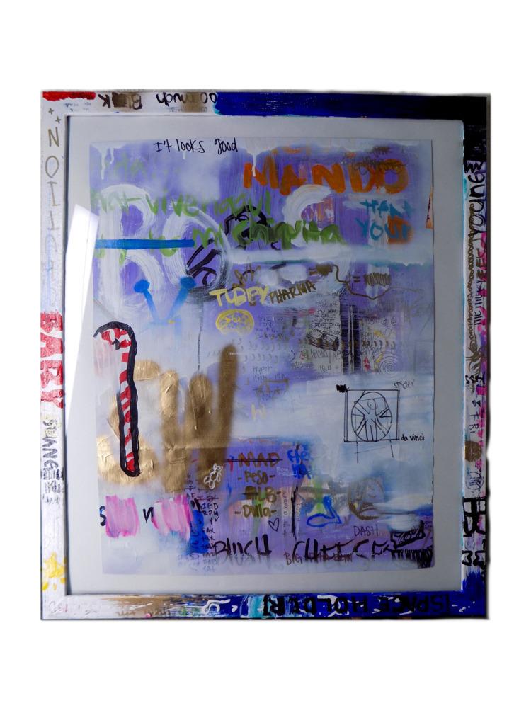 2. OFMALIA , Acrylic, ink, oil  - ofmalia | ello