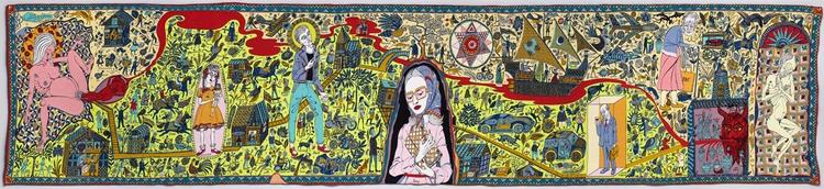 Grayson Perry - art, tapestry, graysonabilia - valosalo | ello