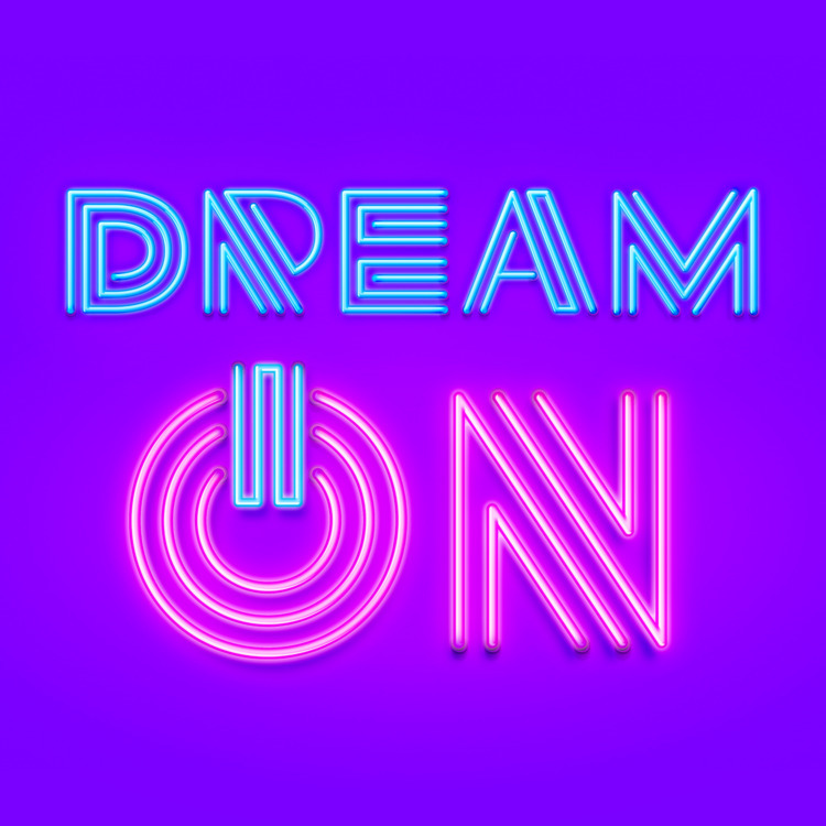 Dream - Photoshop 25 Years - Lettering - leandrosenna | ello