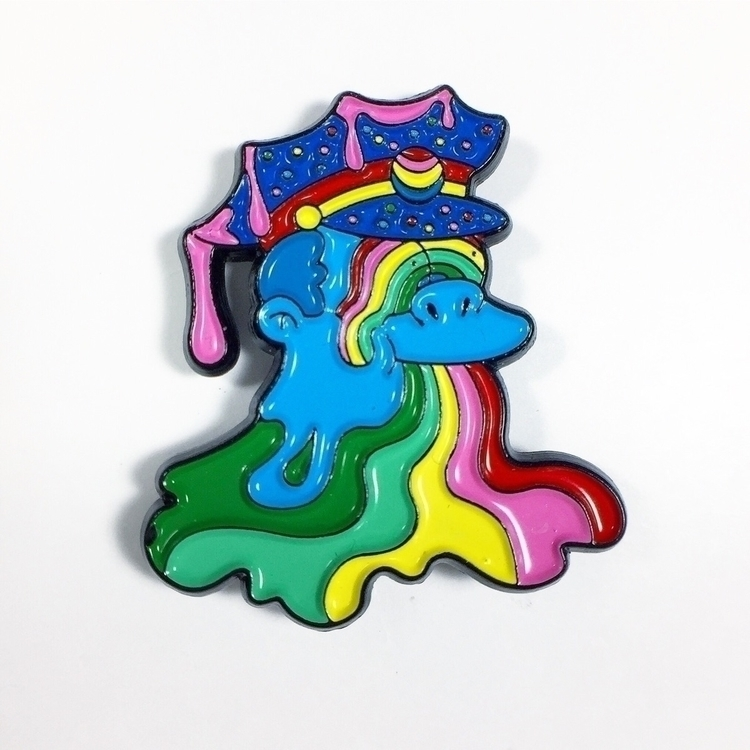 Trippy Chief Wiggum pin- purcha - ms_wearer | ello